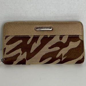 Dana Buchman Tan/Brown Zebra Women's Wallet